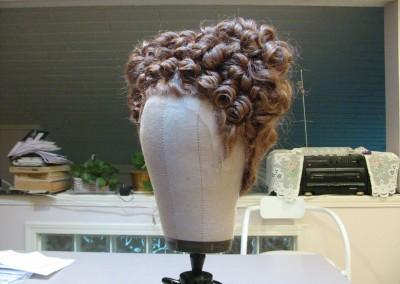Wig Styling for POV Maria Stuarda Shoot