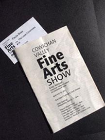 The Cowichan Valley Art Show Program