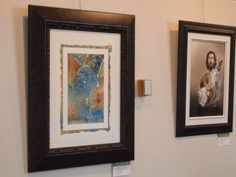 The Lace Chronicles #7 being exhibited at the Markham Flato Theatre Gallery