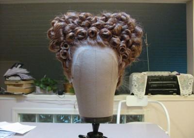 Wig Styling for POV Maria Stuarda Shoot